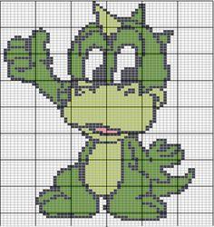 Esquema Infantil - Bebe Dragon