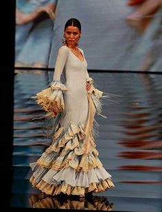 "[gallery link=""none"" size=""full"" Flamenco Wedding, Fashion Art, Fashion Show, Fashion Design, Flamenco Costume, Cocktail Outfit, Spanish Fashion, Glamour, Casual Elegance"