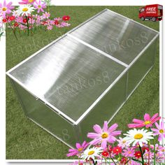 Portable-Cold-Frame-Hothouse-Panels-Plants-Backyard-Gardener-Roof-Top-Herb-New