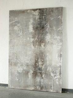 blurred grey brown white 2016 - 130 x 90 cm -Acryl auf Leinwand