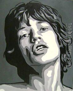Mick Jagger Rolling Stones by Pop Art