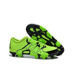 reputable site cdf5a 96a2f Acheter Adidas Chaussures de Foot X 15.1 FG AG - Nouvelles Crampons Vert  Noir pas