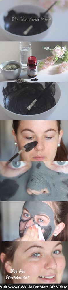 Are you struggling with stubborn blackheads that keep coming back? Well, it's time to say adiós to those unpleasant skin problems because today you'll learn how to make a DIY blackhead removal mask that will only take you a few minutes to create! See video and full written instructions here: http://gwyl.io/save-money-with-this-do-it-yourself-blackhead-removal-mask/