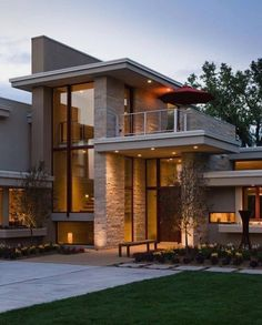 New House Modern Exterior Architecture Outdoor Living Ideas Dream House Exterior, House Exterior Design, Wall Exterior, Facade Design, Facade House, House Facades, House Goals, Modern House Design, Modern Houses