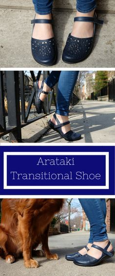 The Naot Arataki is a great transitional shoe for in between seasons! See reviews of Naot and hundreds of other shoes at www.barkingdogshoes.com