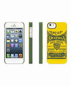 Loving this Crayola Vintage No. 8 Case for iPhone 5/5s on #zulily! #zulilyfinds