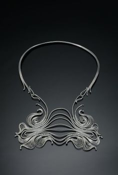 Necklace | Mary Lee Hu.  Fine Sterling Silver