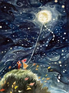 """Flying the Moon"" by Mary Gutleisch"