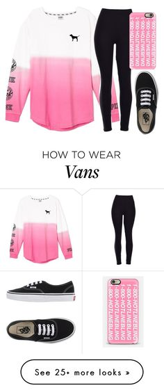 """""""1-800-HOTLINEBLING"""" by volleyballspikr on Polyvore featuring Victoria's Secret, Vans, Casetify, women's clothing, women, female, woman, misses and juniors"""