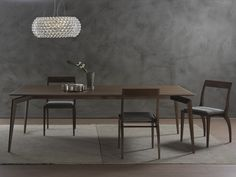 HOPE Mesa rectangular by Pacini & Cappellini diseño Cesare Arosio