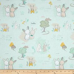 Art Gallery Littlest Furry Tales Minty Fabric By The Yard Art Gallery Fabrics http://www.amazon.com/dp/B00PBA6O8G/ref=cm_sw_r_pi_dp_eKIfxb0HFHHY2