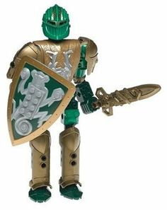 LEGO Knights Kingdom Sir Rascus by LEGO. $28.76. Stands over 7.5 inches/19 cm high. Includes new armor, sword and shield. Features new sword and shield movement, the Banteras Mayhem Maneuver. From the Manufacturer                His quick wit and quicker blade make Sir Rascus a powerful foe of all evil. His wild new sword-fighting moves make enemies flee!                                    Product Description                Brand new in factory sealed package. Bionicle Heroes, Lego Bionicle, Lego Knights Kingdom, Fighting Moves, Hero Factory, Western World, Lego Design, Building Toys, Cool Artwork
