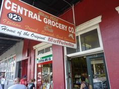 Central Grocery Co., New Orleans