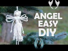 How to Make Angel Easily How to make an Angel using cotton rope! Create a cute angel as a lovely gift for Christmas Eve. Beginners or kids can make this angel easily. This cute macrame Angel can be a perfect accessory or a nice gift for anyone! Use this Angel as a delicate ornament for Christmas tree or decoration for your room.<br> How to make an Angel using cotton rope! Create a cute angel as a lovely gift for Christmas Eve. Beginners or kids can make this angel easily. This cute macrame…