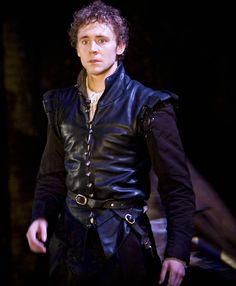 Tom as Cassio in Othello, 2008 oh my God, he is too cute here ;)