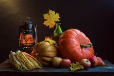 Still Life Photography - Autumn stuff by Konstantin Voronov on 500px