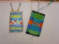 The Lake Forest Louvre: Second Grade Weavings/Jewelry