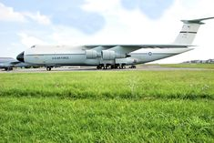 C-5A Galaxy - Air Mobility Command Museum Us Military Aircraft, Military Jets, C 5 Galaxy, Airplane Fighter, Us Air Force, Cold War, Pacific Ocean, Us Army, Big Boys