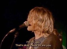 Find images and videos about grunge, nirvana and kurt cobain on We Heart It - the app to get lost in what you love. Nirvana Youtube, Jukebox, Nirvana Quotes, Nirvana Art, Nirvana Lyrics, Find My Friends, Grunge Tumblr, Grunge Quotes, Nirvana Kurt Cobain