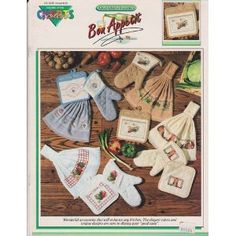 Bon Appetit Cross Stitch Patterns #11105  by Color Charts$14.98