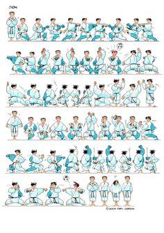 Title Slide of Empi Karate Club, Karate Kata, Shotokan Karate, Self Defense Moves, Plank Workout, Action Poses, Dojo, Tai Chi, Jiu Jitsu