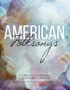 FREE Interactive PDF with sheet music for 20 great American folk songs and sing-along accompaniment files in the PDF! Perfect to use at a SMARTBoard/tablet/computer.  The creator received a schoolroom grant from the Mary Chilton DAR (Daughters of the American Revolution) Foundation to create this file and spread it around. PLEASE take advantage of this amazing free resource and spread the word! #music #education #musiceducation