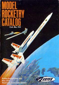 the 1970 Estes Model Rocket Catalog