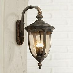 Bellagio 20 And One Half Inch High Bronze Downbridge Outdoor Wall Light – Fixtures 2020 Outdoor Wall Light Fixtures, Porch Lighting, Garage Light Fixtures, Outdoor Walls, Exterior Lighting, Garage Lighting, Wall Lights, Lamps Plus, Exterior Wall Light
