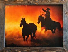 Western Decor Rustic Decor Cowboy Decor by RusticPrimitivesEtc