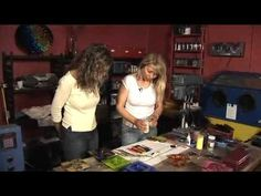 How to make beautiful fused glass vase - YouTube