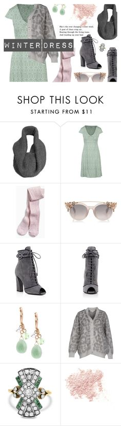 """""""Winter Dress: Pretty pastels"""" by maddophelia ❤ liked on Polyvore featuring ReLuxe, Toad&Co, Prada, Lonna & Lilly, STELLA McCARTNEY, Bare Escentuals and under100"""