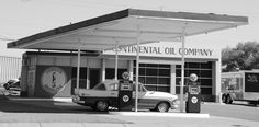 """ Continental Oil Company "" in Tucumcari New Mexico  Route 66 on My Mind "" Route 66 blog ; http://2441.blog54.fc2.com https://www.facebook.com/groups/529713950495809/ http://route66jp.info"