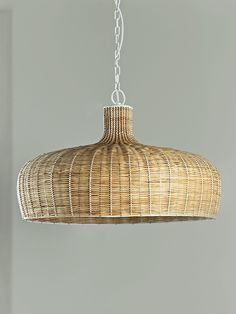 Add a touch of Scandinavian style to your lighting with our woven rattan…