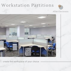 Make the best use of working space for all your office employees by using workstation partitions. Aflak provides a wide range of workstation with partitions and storage to give equal space to everyone. #Aflakofficefurniture #officefurniture #workstation #workspace #workplace #officefurnituretrends #officechair #officetable #officedesk