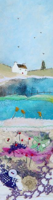 ''Across the little bridge''  Louise O'Hara Art