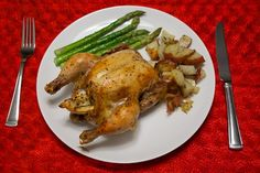 Garlic and Herb Roasted Cornish Hen with Roasted Potatoes | Weight Weight Don't Tell Me