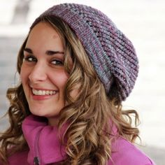 The YARNSTER is your new new fave go to slouch hat knitting pattern!