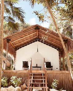 Ultimate Glamping Guide Across the Globe Cabana, Hut House, Pop Up Tent, Beach Bungalows, Tulum Mexico, Cabin Plans, Tropical Houses, Adventure Is Out There, Outdoor Structures