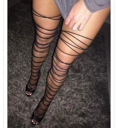shoes,strappy sandals,strappy heels,black wrap sandals,thigh highs - Sexy legs and feet - High Heel Boots, Heeled Boots, Shoe Boots, Shoes Heels, Thigh High Sandals, Strap Heels, Heeled Sandals, Black Strappy Heels, Sexy High Heels