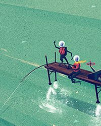 Beautifully Textured Artwork by Dan Matutina