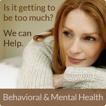 Behavioral & Mental Health Services