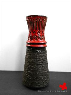 Vintage mattglossy Jasba vase probably from by SonjasLavaLounge, €17.00