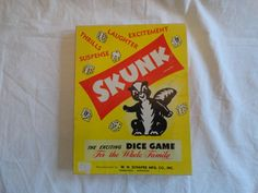 Hey, I found this really awesome Etsy listing at https://www.etsy.com/listing/233596135/wh-schaper-mfg-co-inc-skunk-dice-game-in
