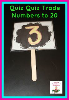 Reviewing numbers to 20!