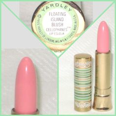 1969 Yardley Floating Island Blush Cellophanes Lip Colour. Sold for $74 in 2014.