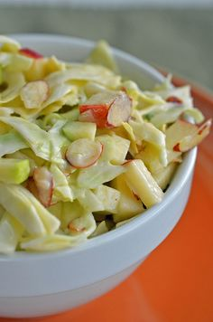 Crispy Apple Coleslaw