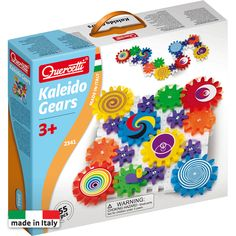 Create a wonder by spinning the Gears! Fun Kaleido Gears is a 55 piece set with interlocking plates and decorated meshing gears. The set includes gears in three sizes and a handle. Building Toys, Educational Toys, Gift Guide, Gears, Otaku, Christmas Gifts, Christmas Ideas, Christmas Shopping, Merry Christmas
