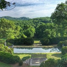 One of my very favorite places in all of Nashville @cheekwood. Wish we were there with you today @nfocusmagazine! #nashville #cheekwood #thatview