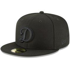 f9e5fcb3e2e Los Angeles Dodgers New Era Secondary Logo Basic Fitted Hat - Black