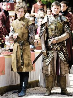 Loras Tyrell and Jaime Lannister in The Lion and the Rose.